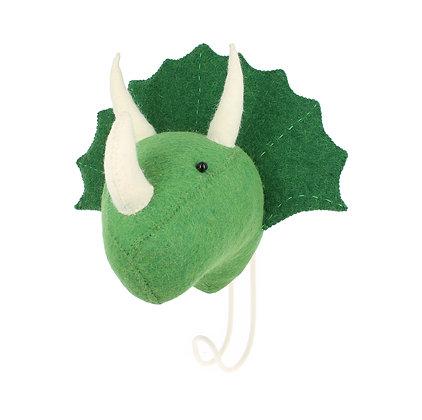 Fiona Walker Animal Hook - Triceratops