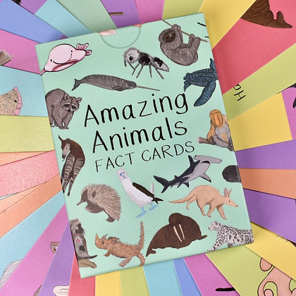 Button and Squirt - Cards (Amazing Animals - Set 1 )