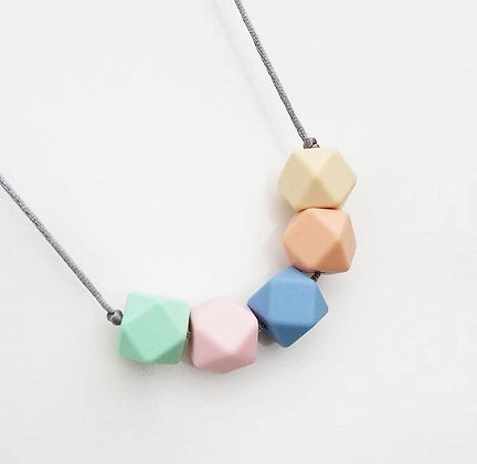 Mama Knows  - Teething Necklace (Summer Pastels)