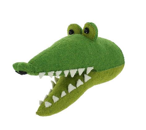 Fiona Walker Animal Head - Croc (mini)