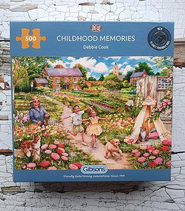 Gibsons Jigsaw - Childhood Memories (500 pieces)