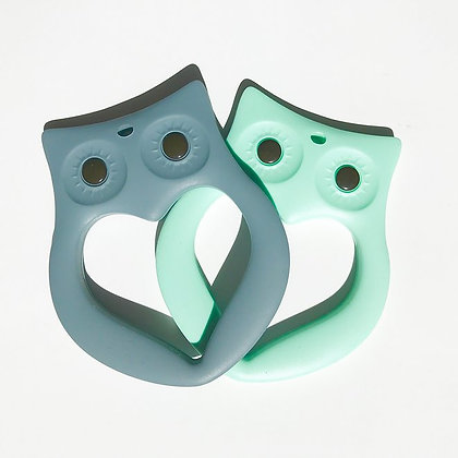 Mama Knows Teether - Owl (Various Colours)