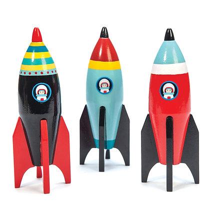 Le Toy Van - Space Rocket (Various Colours)