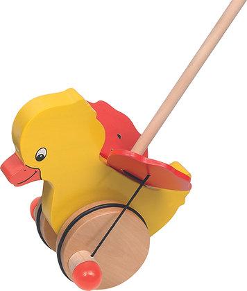 Goki Push-along - Duck