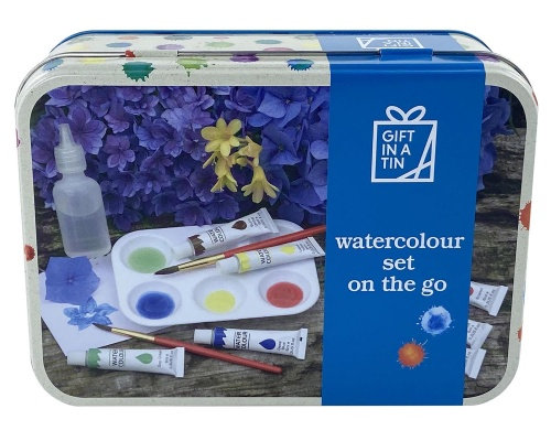 Gift in a Tin - Watercolours on the go