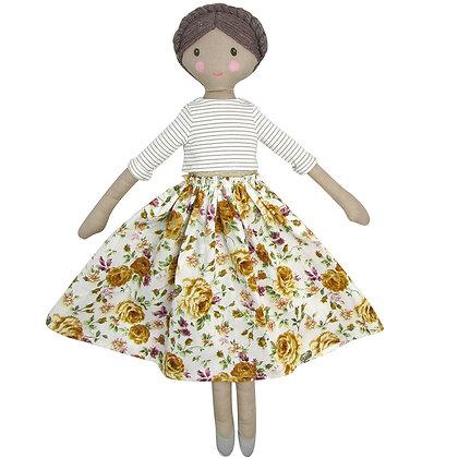 Albetta Jeane Floral Doll