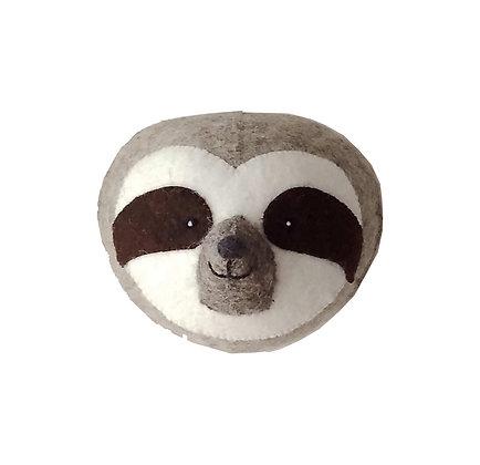 Fiona Walker Animal Head - Sloth (mini)