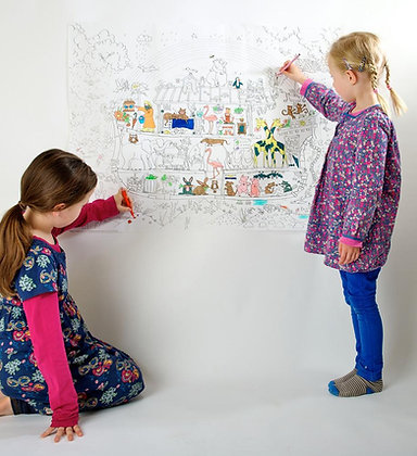Really Giant Colouring Poster - Noah's Ark
