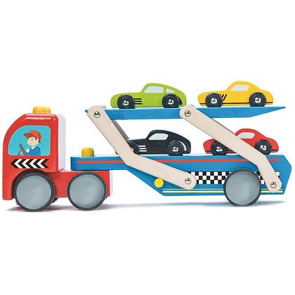 Le Toy Van - Race Car Transporter Set