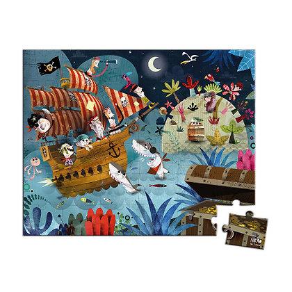 Janod Jigsaw Puzzle - Pirates  4yrs+