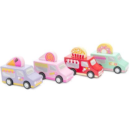 Le Toy Van - Sweet & Treats Pullback Cars (Various Colours)