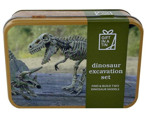 Gift in aTin- Dinosaur Excavation Kit