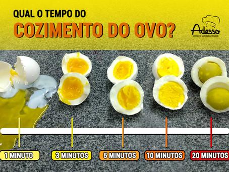 Qual o tempo de cozimento do ovo?