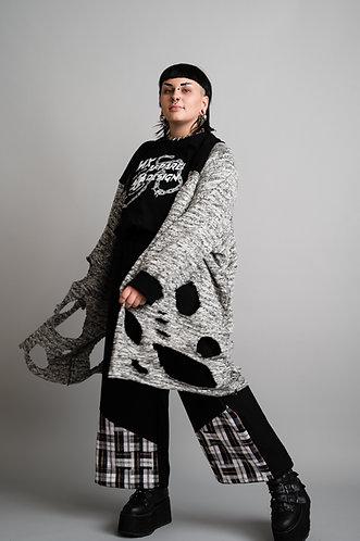 Distress Raglan Sweater