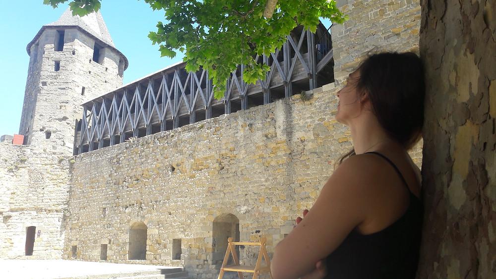 carcassonne intérieur triple réchauffeur défenses rôle de protection