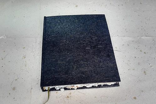 Caderno reciclado rústico