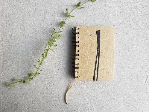 Caderno pequeno wire-ô