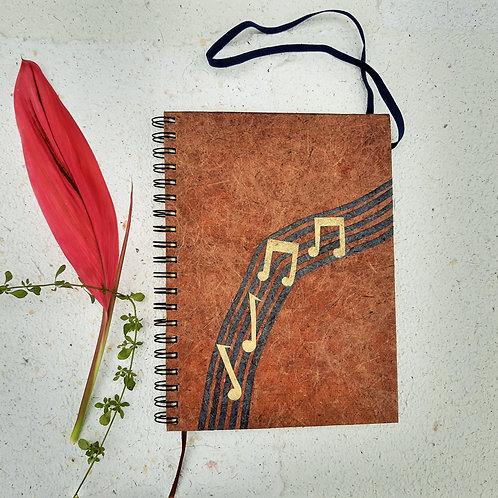 cópia de Caderno de música