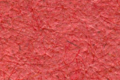 Folha papel vermelho