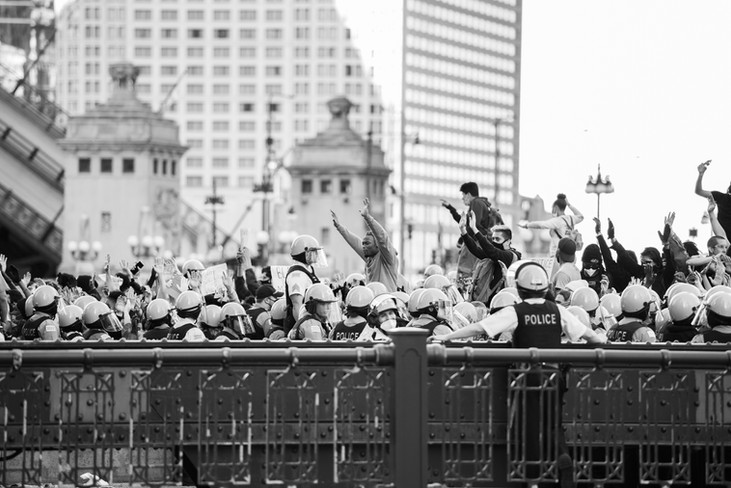 George Floyd protest Chicago