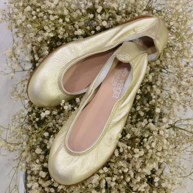 Modelo Bailarina con Gomas - Platino