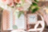 Pink wedding invitation, Garden of the Gods Club Wedding, Garden of the Gods Collection Wedding, Colorado wedding inspiration