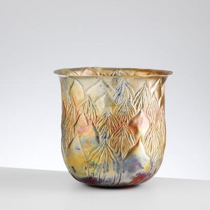 Golden Plant Vessel