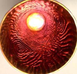 Wood Grain Vase Inside