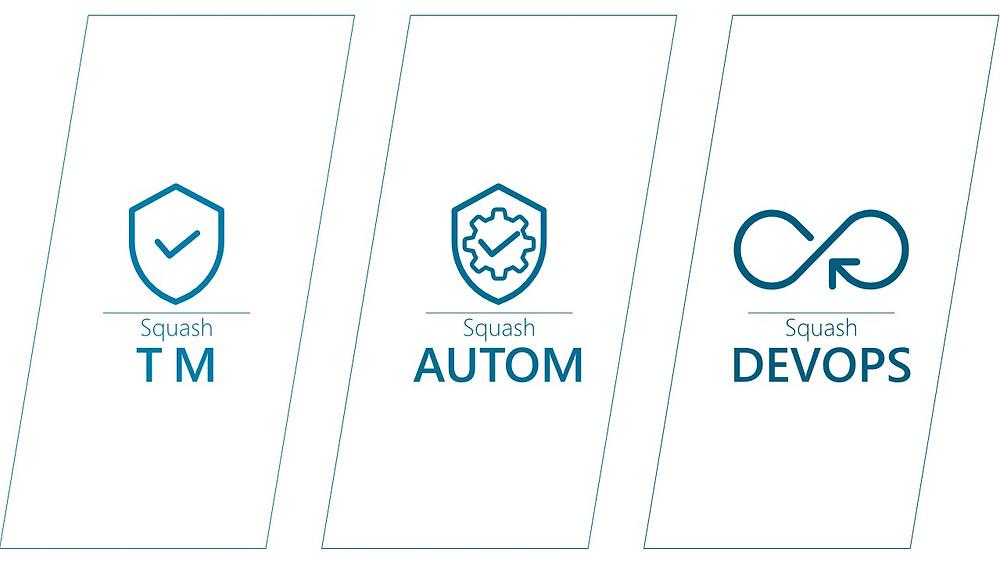 L'offre Squash 2021, ce sont trois modules pour le management des tests, leur automatisation et le DevOps