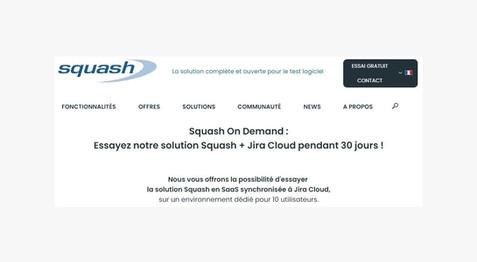 Découvrez Squash On Demand
