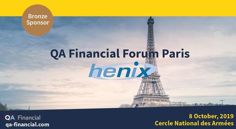 Highlighted Squash on the first ever QA Financial Forum Paris