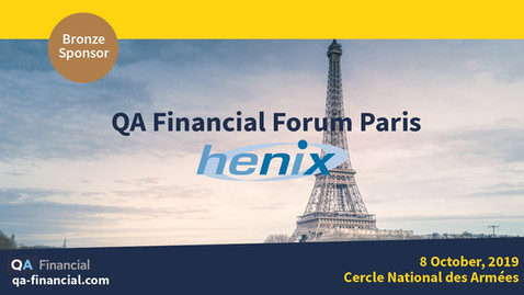 Highlighted Squash on the first ever QA Financial Forum Paris
