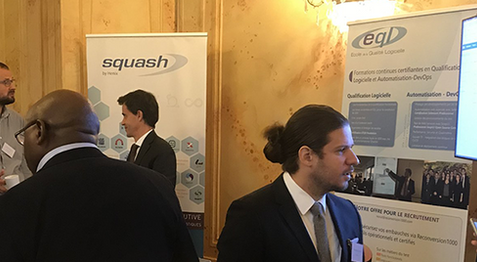 Squash on the QA Financial Forum Paris 2019