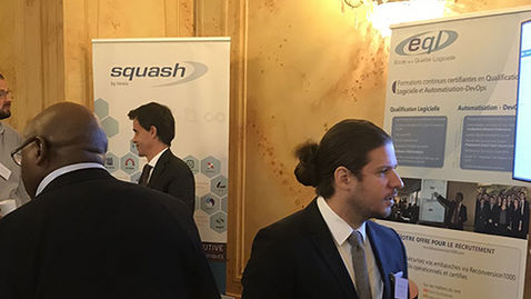 Squash on the QA Financial Forum Paris 2019