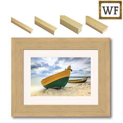 'Vermont' Oak Veneer Frame