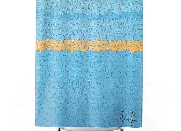 Glacier Sun Shower Curtains