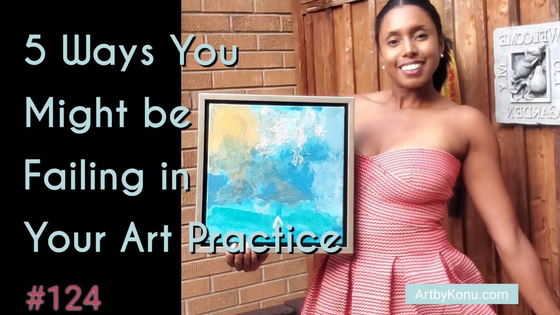 5 Ways you might be failing in your art practice
