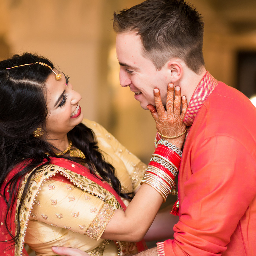 Portrait of Indian Bride and Groom - Indian Wedding Planner