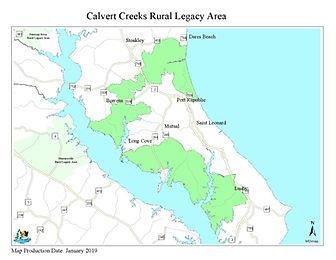 RLP - Calvert - Calvert Creeks RLA - Map