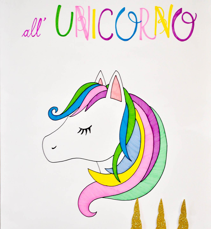 Attacca il corno all'unicorno