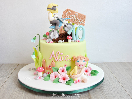 Una torta per due fratelli...