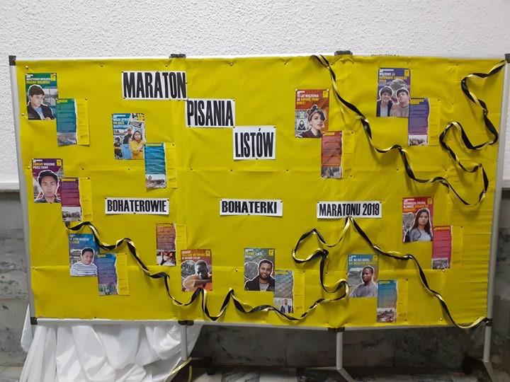 Maraton pisania listów