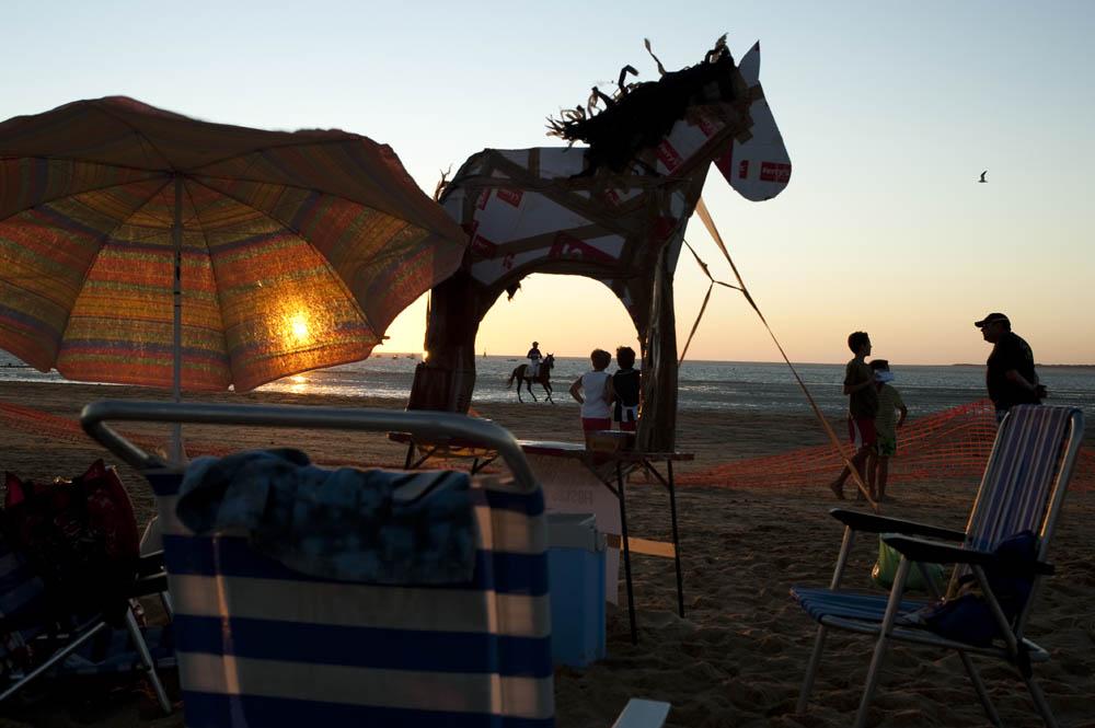 Sanlucar de Barrameda horse racing