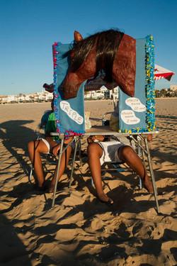 Sanlucar de Barrameda horse racing  -Cadiz - andalusia - spain