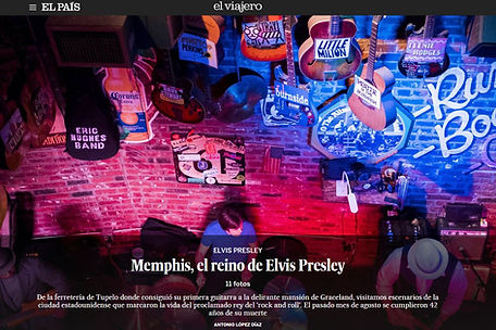 Memphis de Elvis Presley