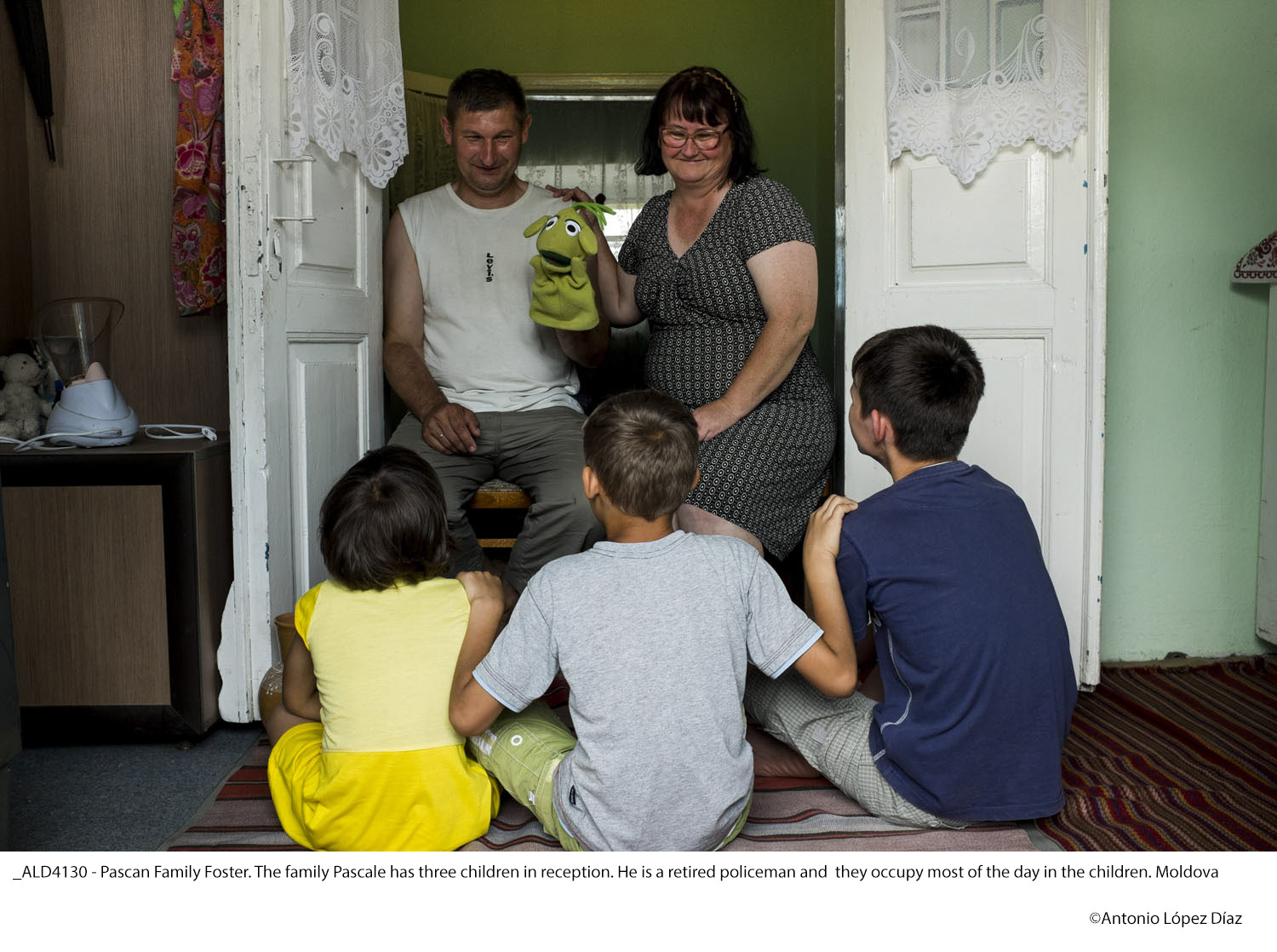 Orphans in Moldova and Transnistria