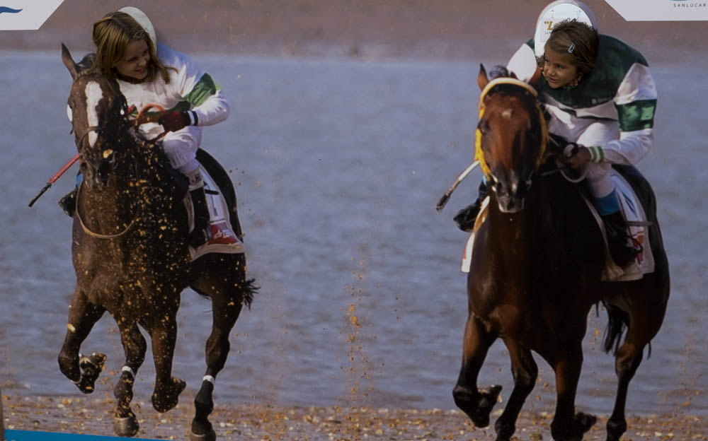 Sanlucar de Barrameda horse racing  -Cadiz - andalusia - spain