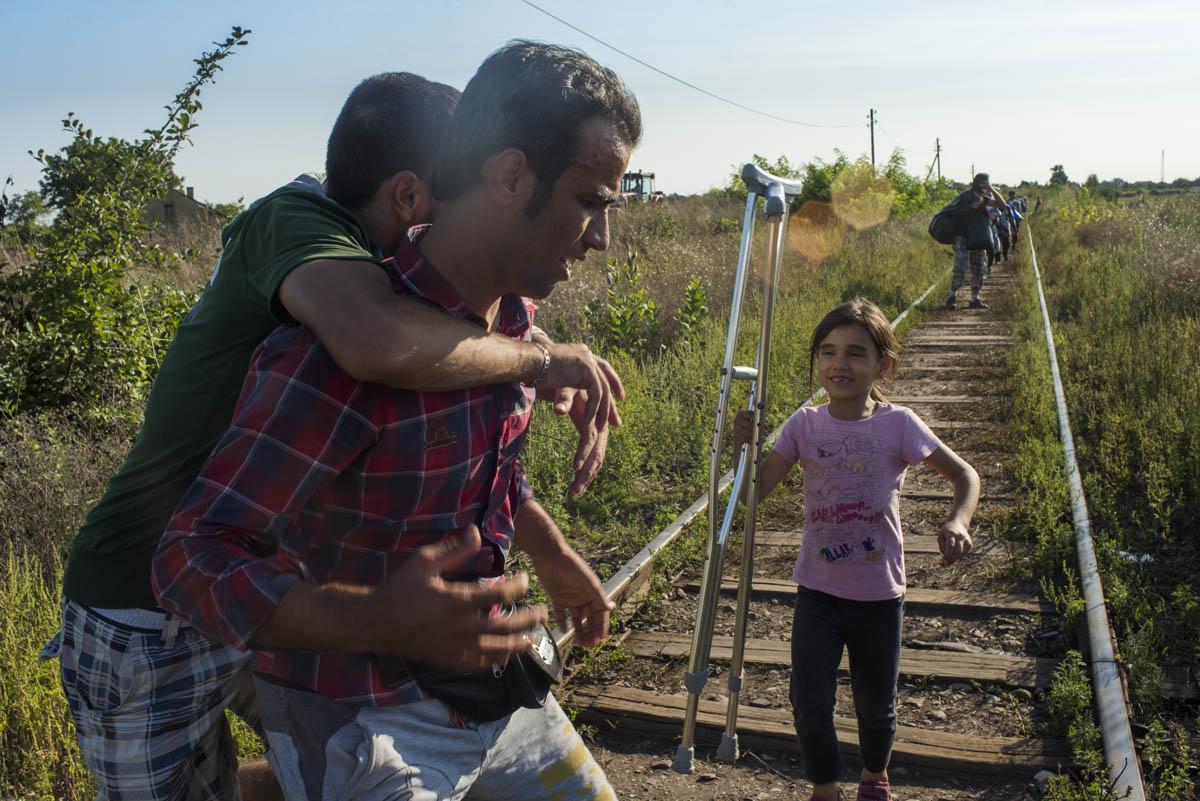 Refugiados, el camino a Europa