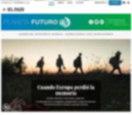 Cuando Europa perdío la memoria. Planeta Futuro, El País; Agustí Centelles; Refugiados sirios; crisis de refugiados.