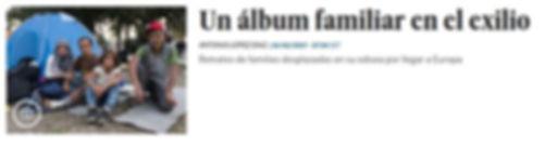 Un álbum familiar en el exilio; fichas refugiados; refugiados. Planeta Futuro, El País; Agustí Centelles; Refugiados sirios; crisis de refugiados.Belgrado;